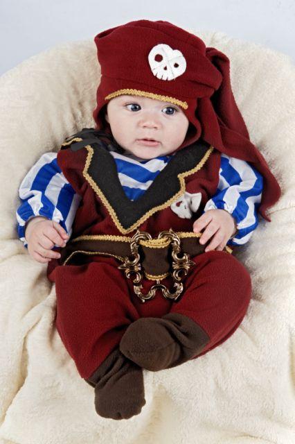 Disfraces de pirata disfraces de payaso y pirata - Disfraz halloween bebe 1 ano ...